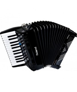 Roland FR-1X Fekete Tangóharmonika