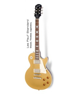 Epiphone Les Paul Standard Gold Top Metallic Gold