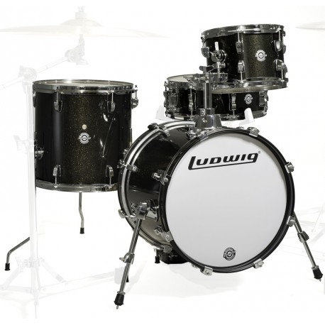 Ludwig Breakbeats - LC179X016 Black-Gold Sparkle