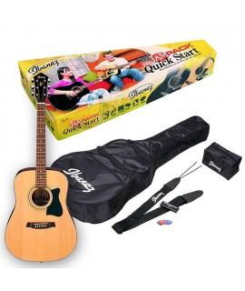 Ibanez V50NJP-NT Akusztikus gitár szett