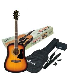 Ibanez V50NJP-VS Akusztikus gitár szett