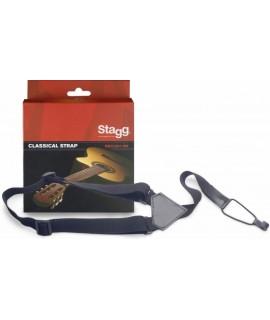 STAGG SNCL001-BK gitár - ukulele nyakló