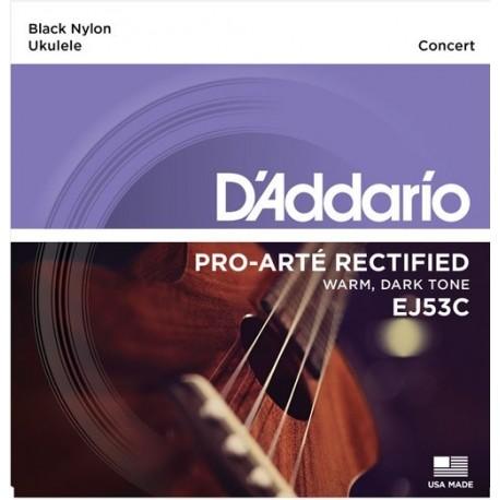 D'addario EJ53C Hawaii/koncert ukulele húrkészlet