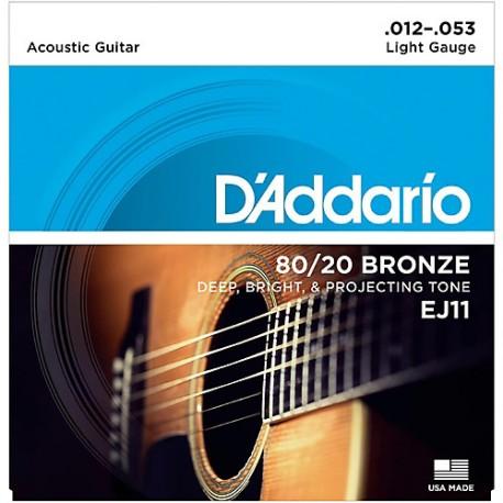 D'Addario EJ11 Akusztikus gitárhúr