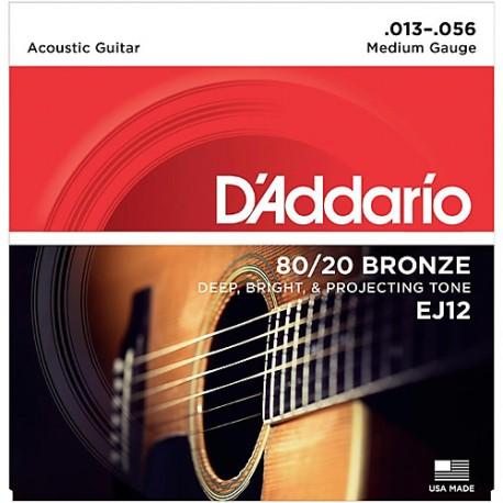 D'Addario EJ12 Akusztikus gitárhúr