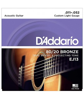 D'Addario EJ13 Akusztikus gitárhúr