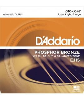 D'Addario EJ15 Akusztikus gitárhúr