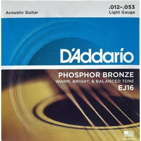 D'Addario EJ16 Akusztikus gitárhúr