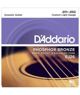 D'Addario EJ26 Akusztikus gitárhúr