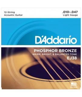 D'Addario EJ38 Akusztikus gitárhúr