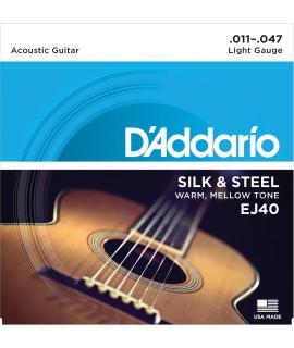 D'Addario EJ40 Akusztikus gitárhúr