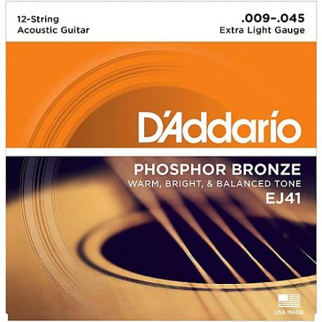 D'Addario EJ41 Akusztikus gitárhúr