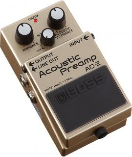 BOSS AD-2 Acoustic Preamp effektpedál