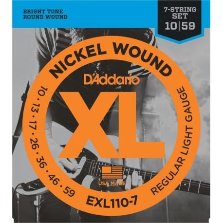 D'Addario EXL110-7 Elektromos gitárhúr