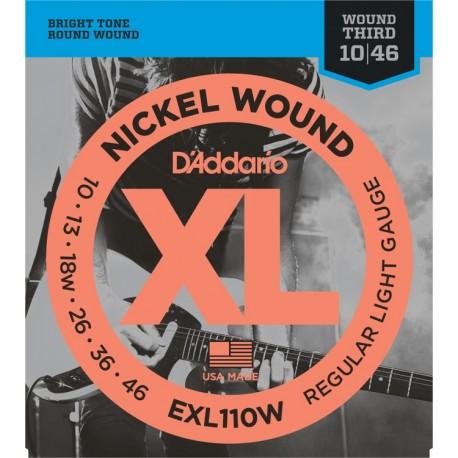 D'Addario EXL110W Elektromos gitárhúr