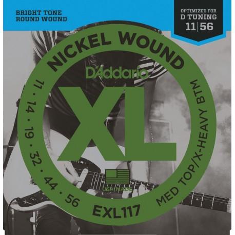 D'Addario EXL117 Elektromos gitárhúr szett