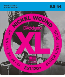 D'Addario EXL120+ Elektromos gitárhúr szett