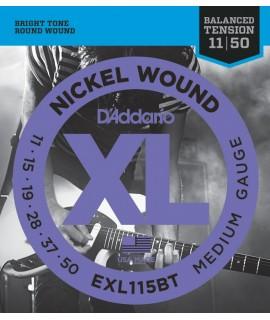 D'Addario EXL115BT Elektromos gitárhúr szett