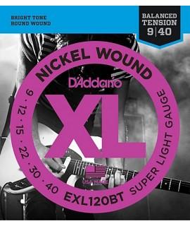D'Addario EXL120BT Elektromos gitárhúr szett