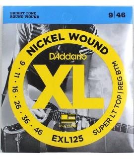 D'Addario EXL125 Elektromos gitárhúr szett