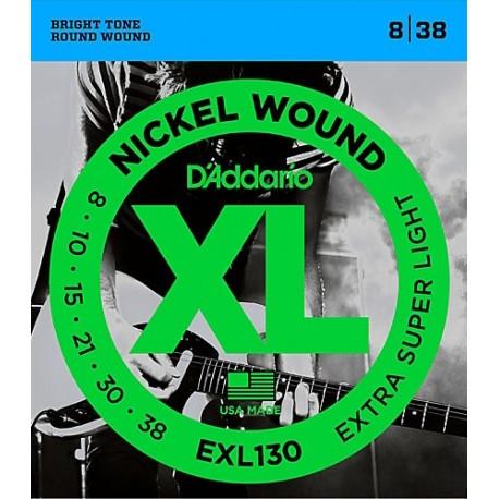 D'Addario EXL130 Elektromos gitárhúr szett