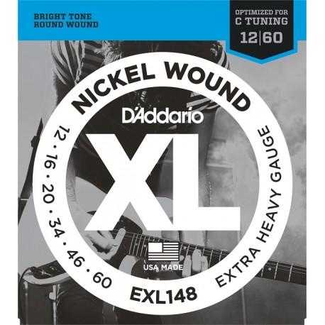 D'Addario EXL148  Elektromosgitár húr szett