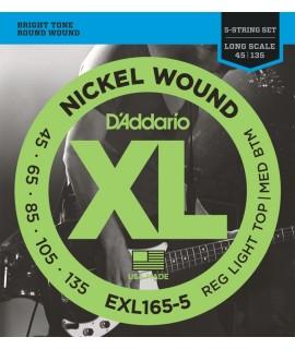 D'Addario EXL165-5 Basszusgitár húr szett