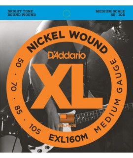 D'Addario EXL160M Basszusgitár húr szett