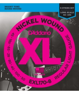 D'Addario  EXL170-8 Basszusgitár húr szett