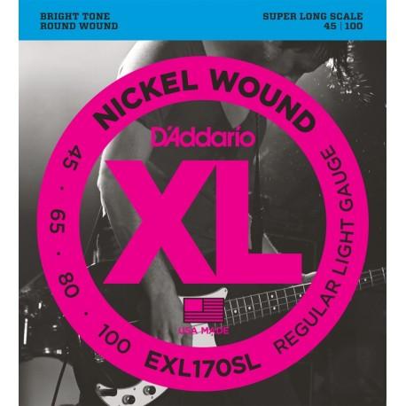 D'Addario EXL170SL Basszusgitár húr szett