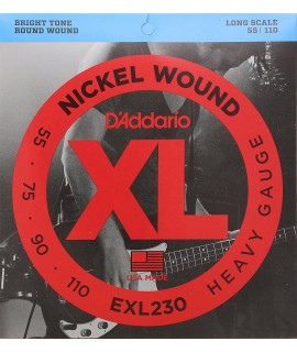 D'Addario EXL230 Basszusgitár húr szett