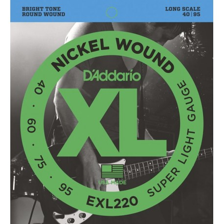 D'Addario EXL220 Basszusgitár húr szett