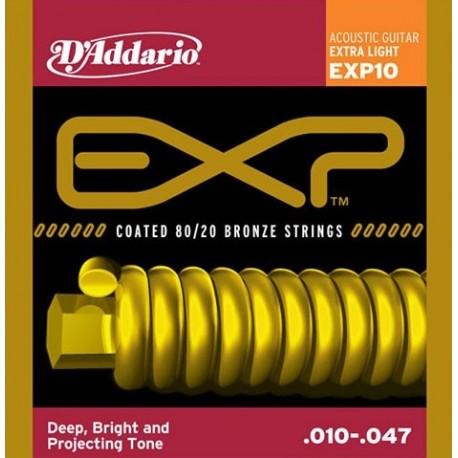 D'Addario EXP10 Akusztikus gitárhúr szett