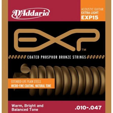 D'Addario EXP15 Akusztikus gitárhúr szett