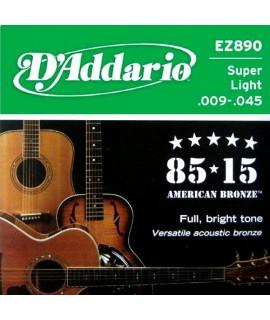 D'Addario EZ890 Akusztikus gitárhúr szett