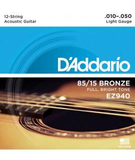 D'Addario EZ940 Akusztikus gitárhúr szett