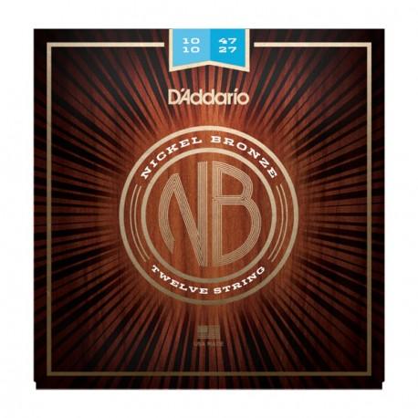 D'Addario NB1047-12 Akusztikus gitárhúr szett