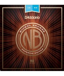 D'Addario NB1253 Akusztikus gitárhúr szett