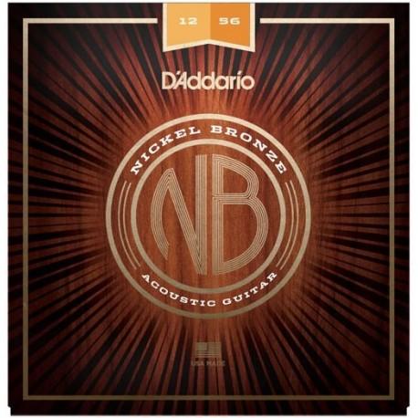 D'Addario NB1256 Akusztikus gitárhúr szett