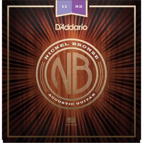 D'Addario NB1152 Akusztikus gitárhúr szett
