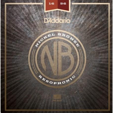 D'Addario NB1656 Rezonátoros gitár húrkészlet
