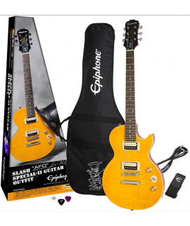 """Epiphone Slash """"AFD"""" Les Paul Elektromos gitár készlet"""