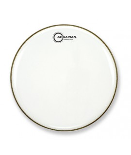 """Aquarian CC16WH 16"""" Classic Clear Gloss White"""