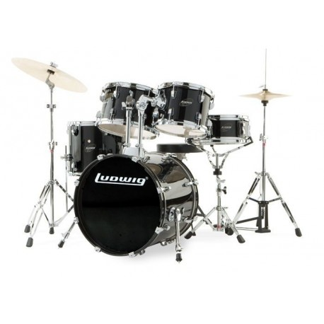 Ludwig Accent Drive Set - LC1751 Black
