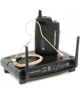 Audio Technica ATW-1101 vezetéknélküli csiptetős mikrofon szett