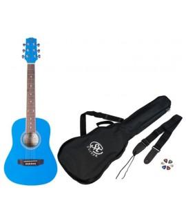SX SM1-12-BBU Akusztikus gitár szett