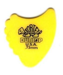 Dunlop 414R 0.73 Tortex Fins Pengető