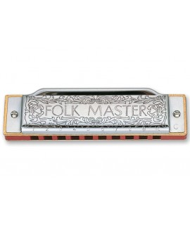 Suzuki Folkmaster Bb szájharmonika