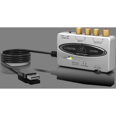 Behringer UCA202 USB interfész