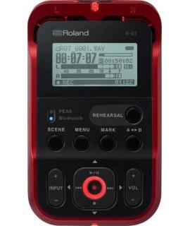 Roland R-07 RD hordozható hangrögzítő